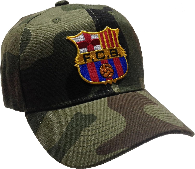 Fcb FC Barcelona Gorro Camuflaje Gorra de balón de fútbol: Amazon.es: Deportes y aire libre