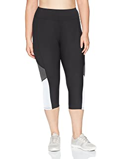 3cb6e786057 Just My Size Women s Plus-Size Stretch Jersey Capri Legging at ...