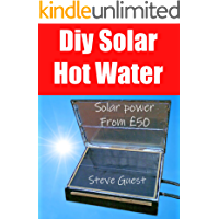 DIY Solar Hot Water, Solar power From £50: Free solar energy from this self build new invention