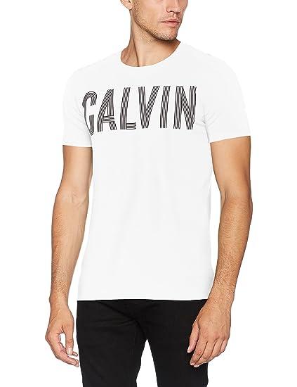 Calvin Klein Men's Tyrus Slimfit CN Tee Kniited Tank Top: Amazon.co.uk:  Clothing