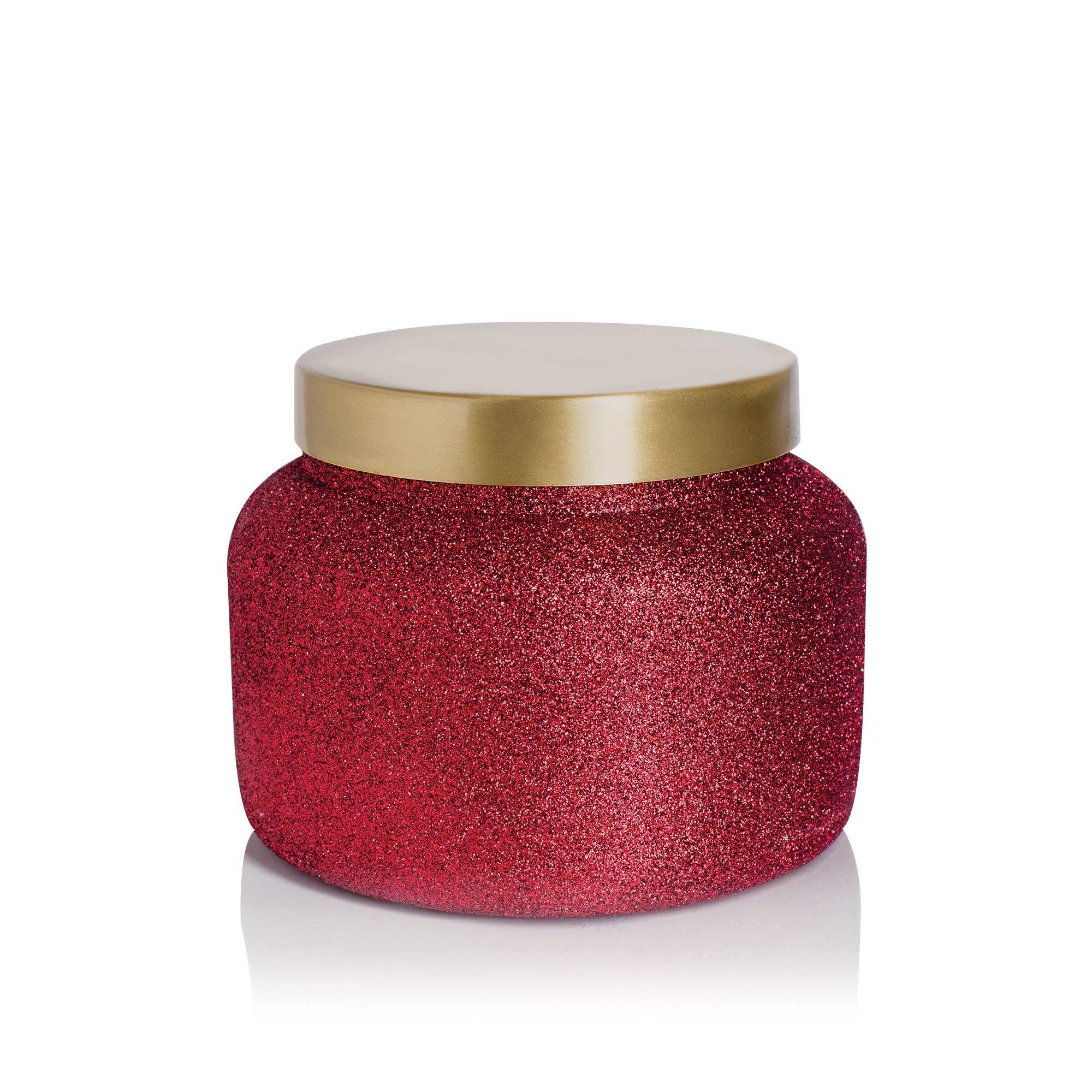 Capri Blue Glitter Glam Jumbo 48 oz Jar Candle-Volcano