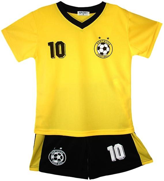Football Summer Shorts Boys New Girls Top Vest Kit Set Size Age 2-14 Years Bnwt