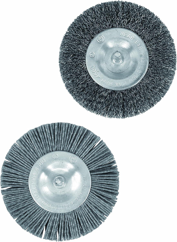 Grizzly Ersatzbürsten Metall zu Fugenbürste für Fugenbürste EFB 401