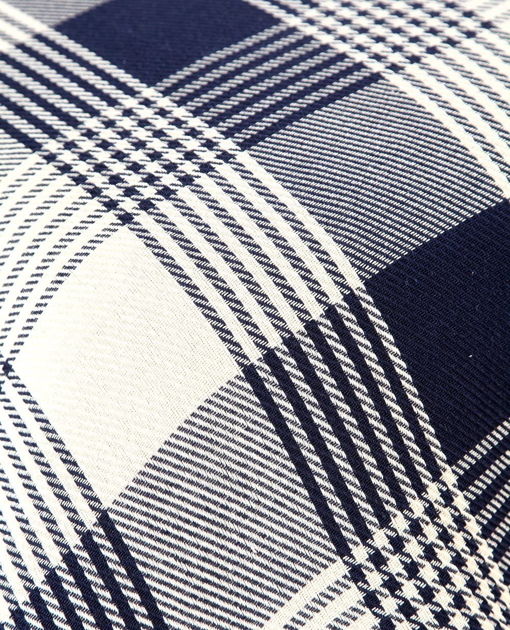 EHC Couvre-lit r/éversible /à tartan 100/% coton Super king size 250/x 380/cm