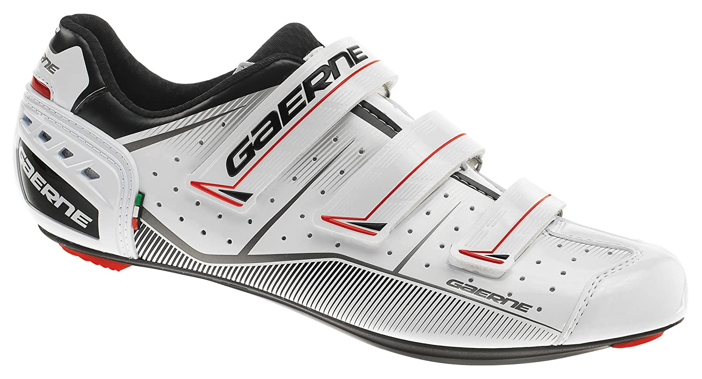 gaerne(ガエルネ) シューズ ビンディング 自転車 ロードバイク Gレコード ホワイト 24.5 3288-004-245   B077YC992R