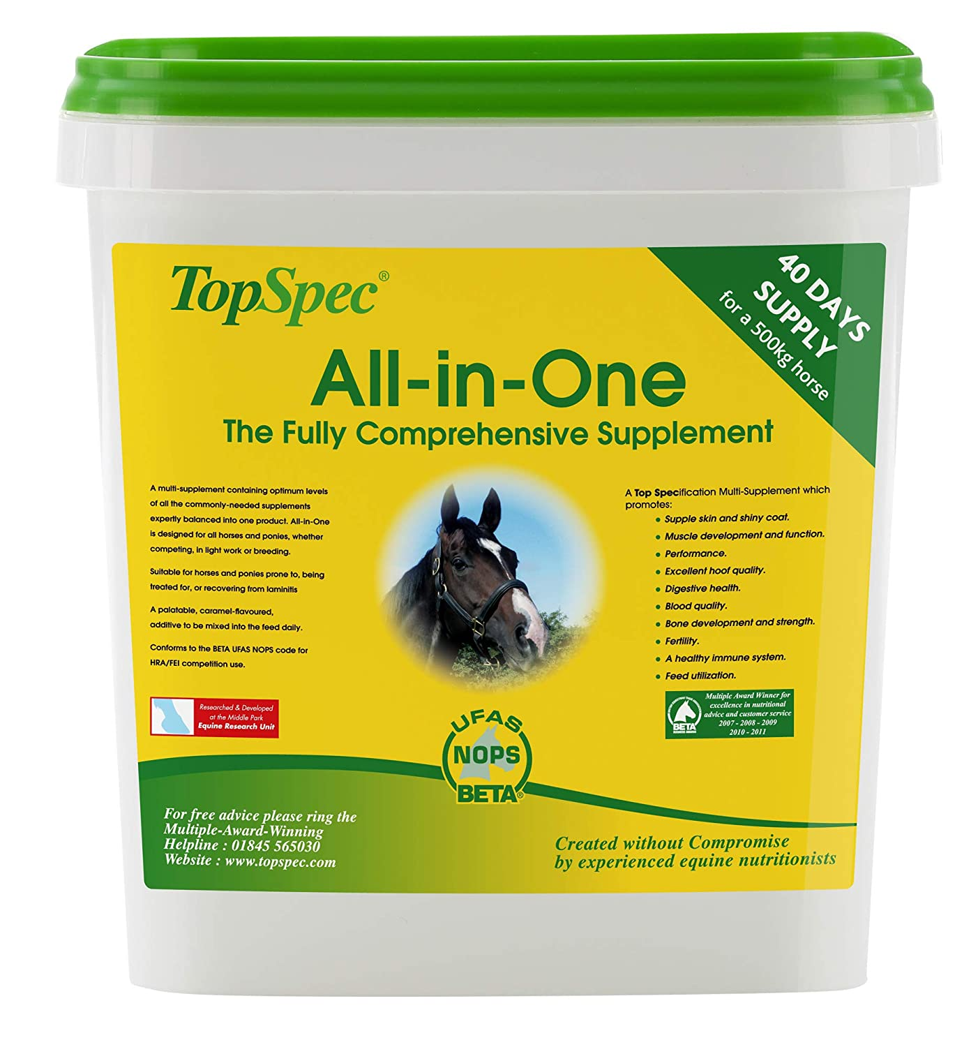 Topspec All-in-One Horse Supplement 4Kg