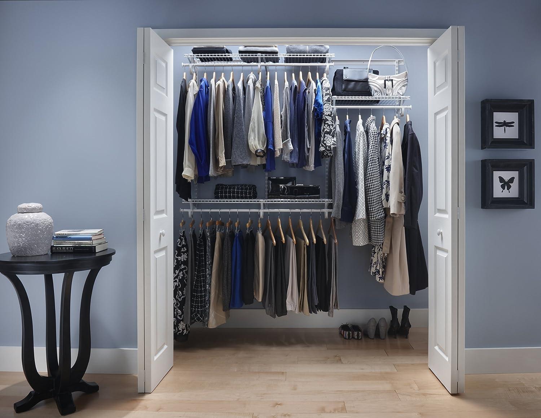 Amazon.com: ClosetMaid 22873 ShelfTrack 4ft. to 6ft. Adjustable ...
