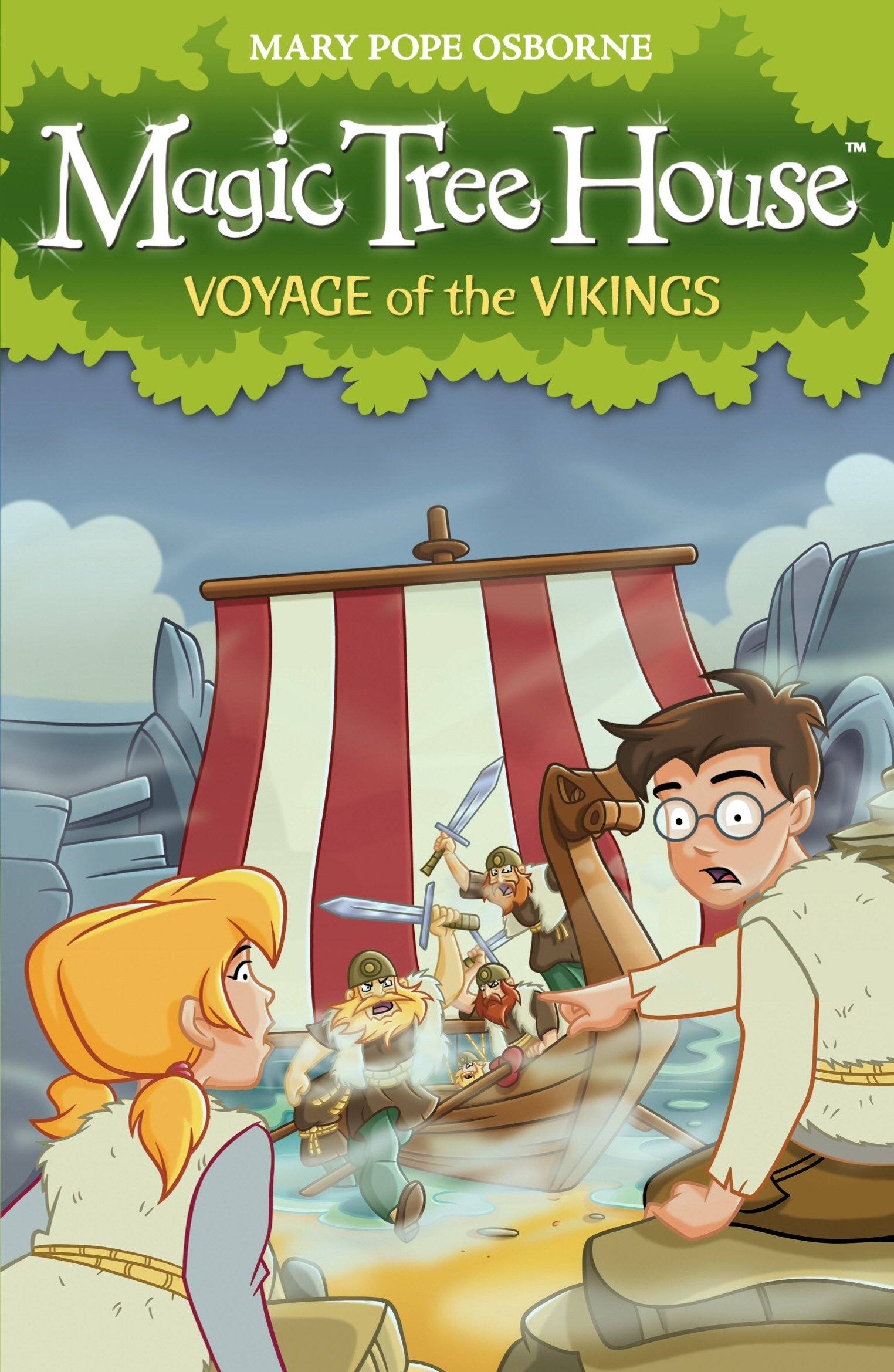 Download Magic Tree House 15: Voyage of the Vikings PDF