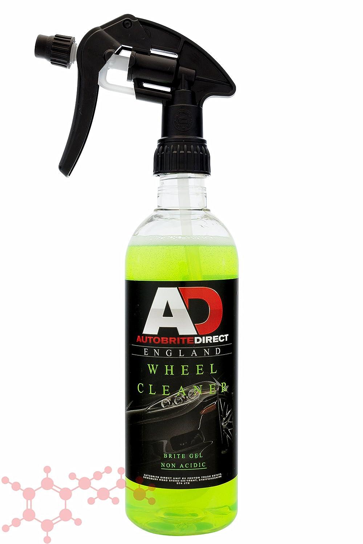 Autobrite Direct Brite Gel 500ml ~ Wheel Tyre Cleaner Non Acid Detail Wash Car