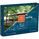 Frank Lloyd Wright Fallingwater 2-Sided 500 Piece Puzzle