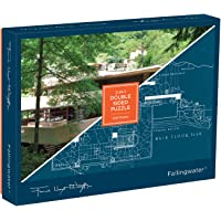Frank Lloyd Wright: Fallingwater 2-Sided 500p Puzzle