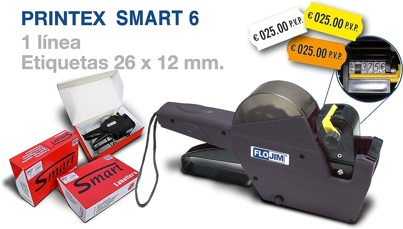 Rouleaux Encreur pour Etiqueteuses PrintexSmart SM et PrintexZ Paquet de 5 Unit/ès