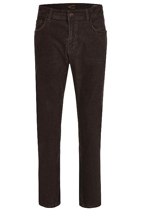 camel active Herren Jeans 5 Pocket Houston Dark Brown 3430