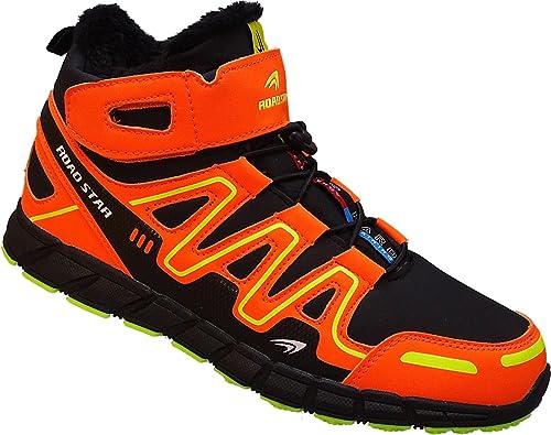 Roadstar 20191 - Zapatillas Altas de Material Sintético Hombre, Color Negro, Talla 49 EU: Amazon.es: Zapatos y complementos