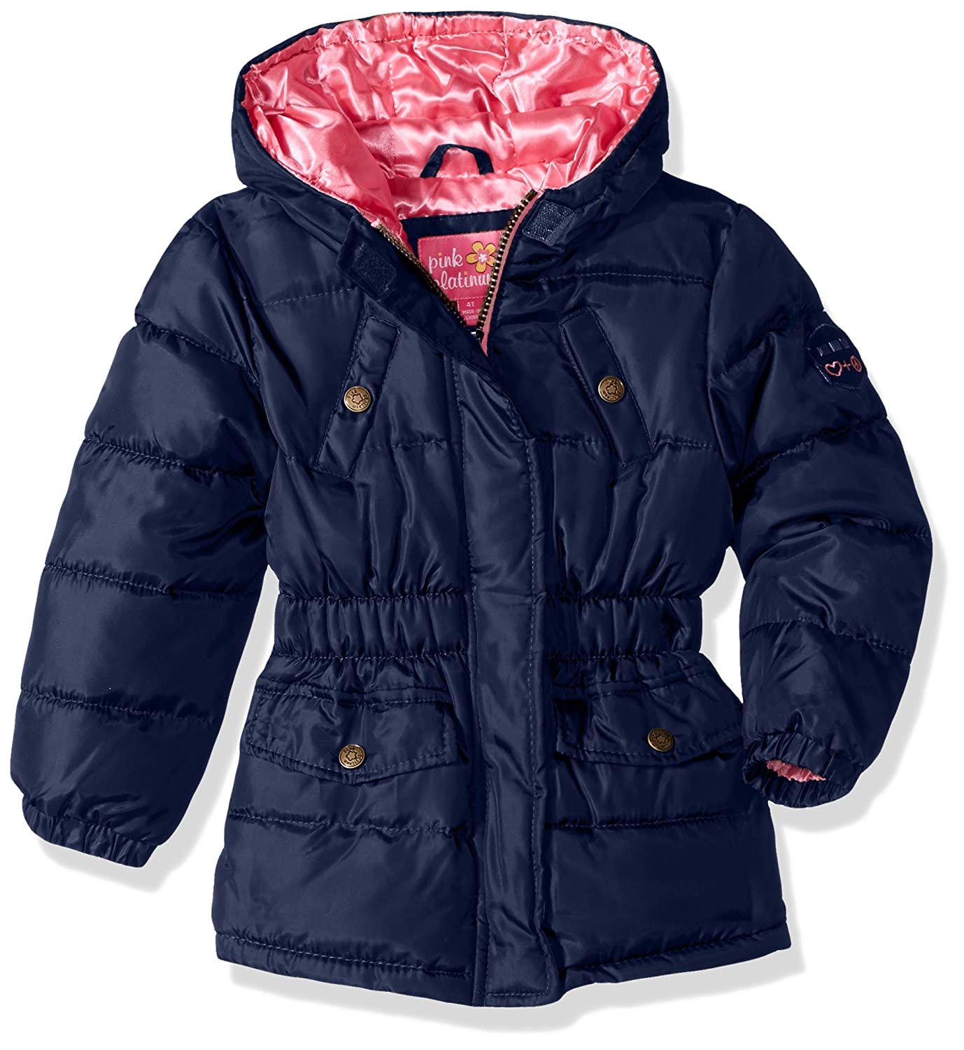 Pink Platinum girls Pop Anorak Jacket 94506