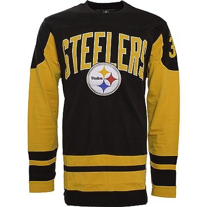 best loved c7cfc b6297 Pittsburgh Steelers Dufferin Long Sleeve T-Shirt: Amazon.ca ...