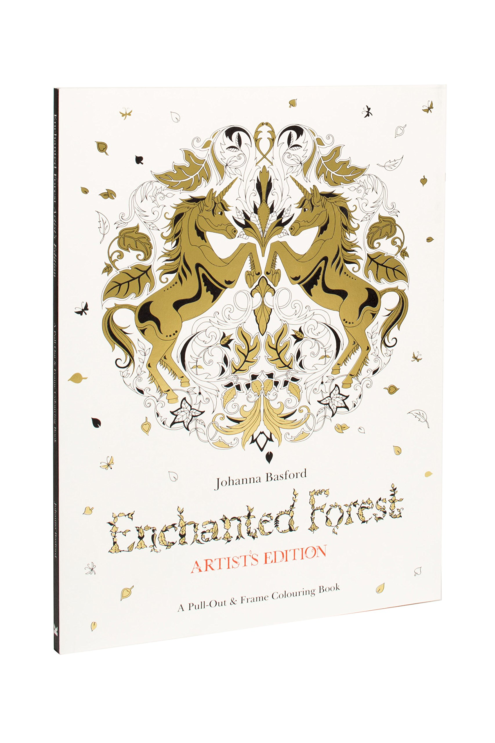 Amazon Enchanted Forest Artists Edition A Pull Out And Frame Colouring Book 9781780677842 Johanna Basford Books
