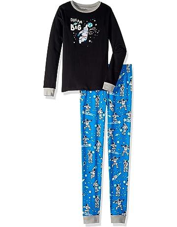 99283afad170 Hatley Boy s Organic Cotton Long Sleeve Appliqué Pyjama Set