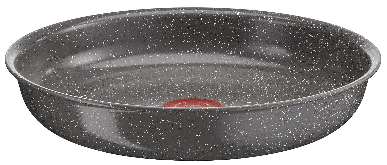 Bandeja de aluminio 28 cm revestimiento de cer/ámica brillante es resistente a los utensilios met/álicos. Tefal Ingenio