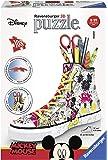 Ravensburger 12055 – Disney Classics Sneaker Mickey Mouse 3D Puzzle - 3D Pencil Holder - 108 Piece 3D Jigsaw Puzzle for…