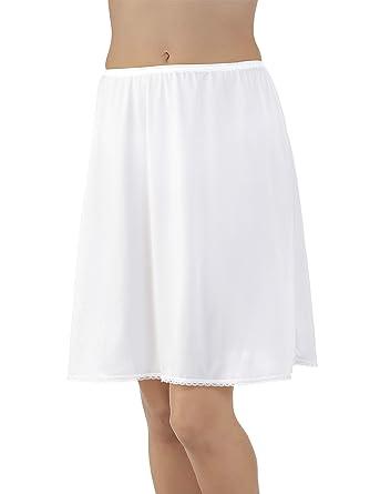 Vanity Fair Ivory A-line Nylon Half Slip Size Large 30 Inches #11-711