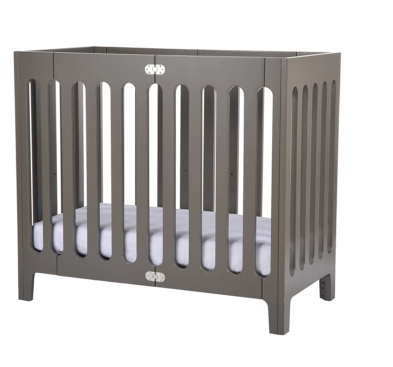 amazoncom  bloom alma mini urban mini folding crib frame frost  - amazoncom  bloom alma mini urban mini folding crib frame frost grey mini crib  baby
