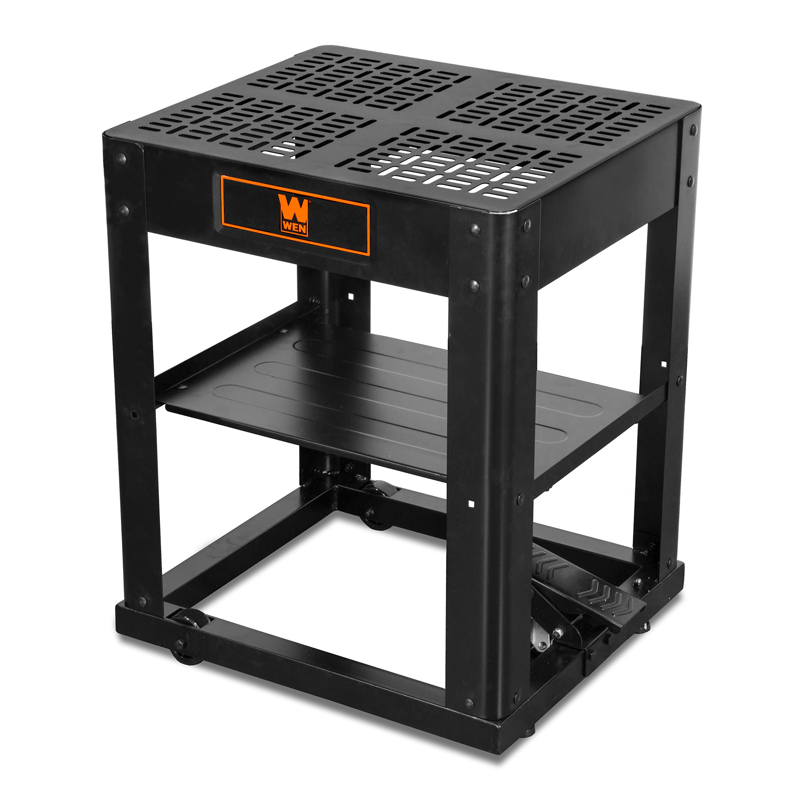 WEN 6588T Multi-Purpose Planer Stand with Storage Shelf and Rolling Base by WEN