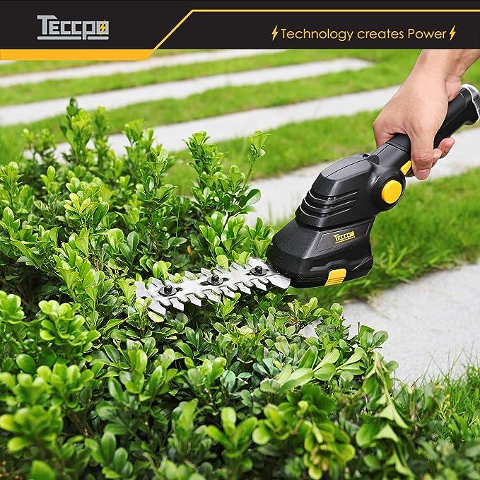 TECCPO teccpo-tdgs01g-3.6 V cortacésped y sfoltirami: Amazon ...