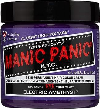 Manic Panic High Voltage Classic Cream Formula Colour Hair Dye (Electric Amethyst)