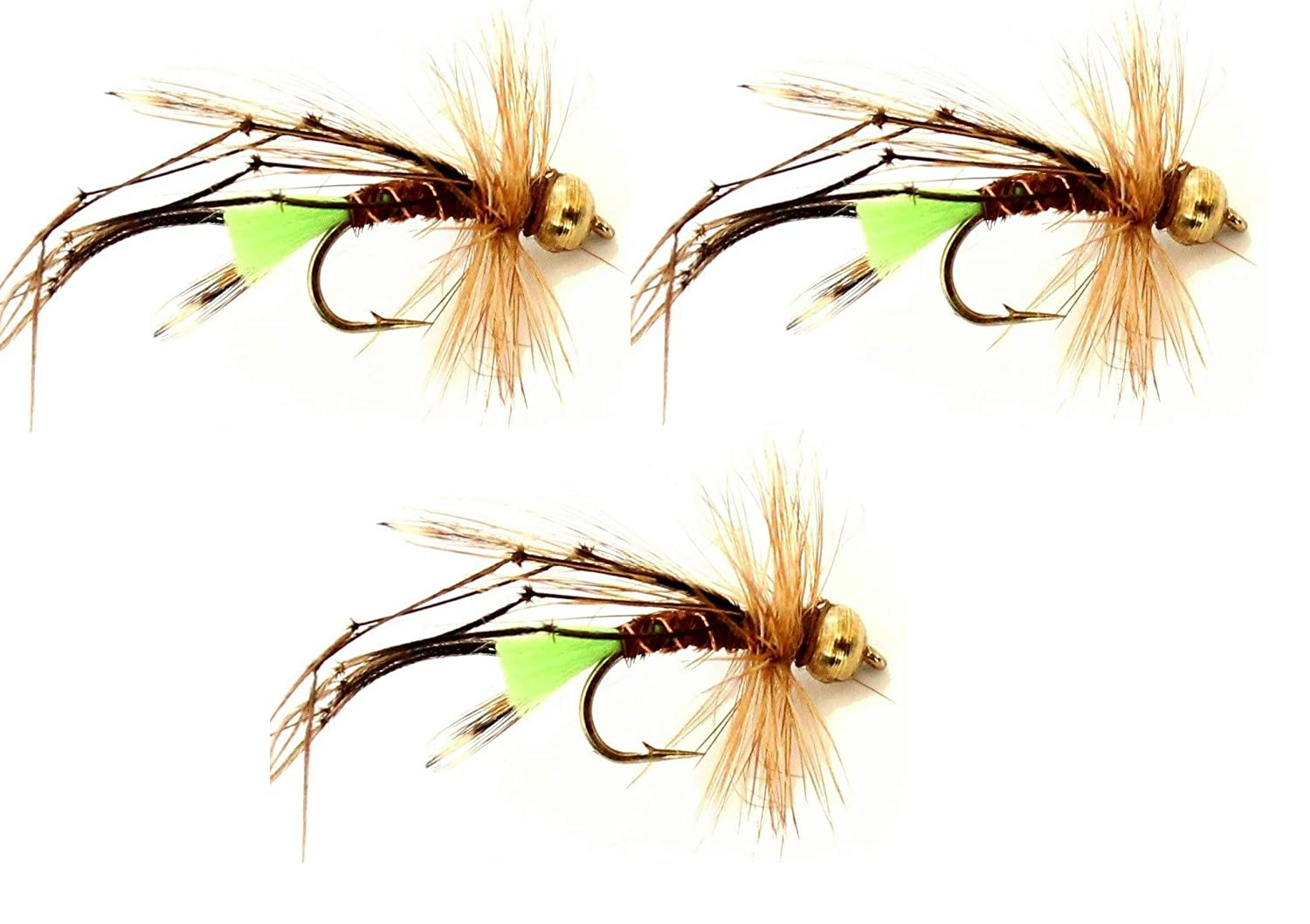 Trout Flies DAMSELS Hook sizes 10 or 12 x 3 or 4 Flies By Arc Fishing Flies