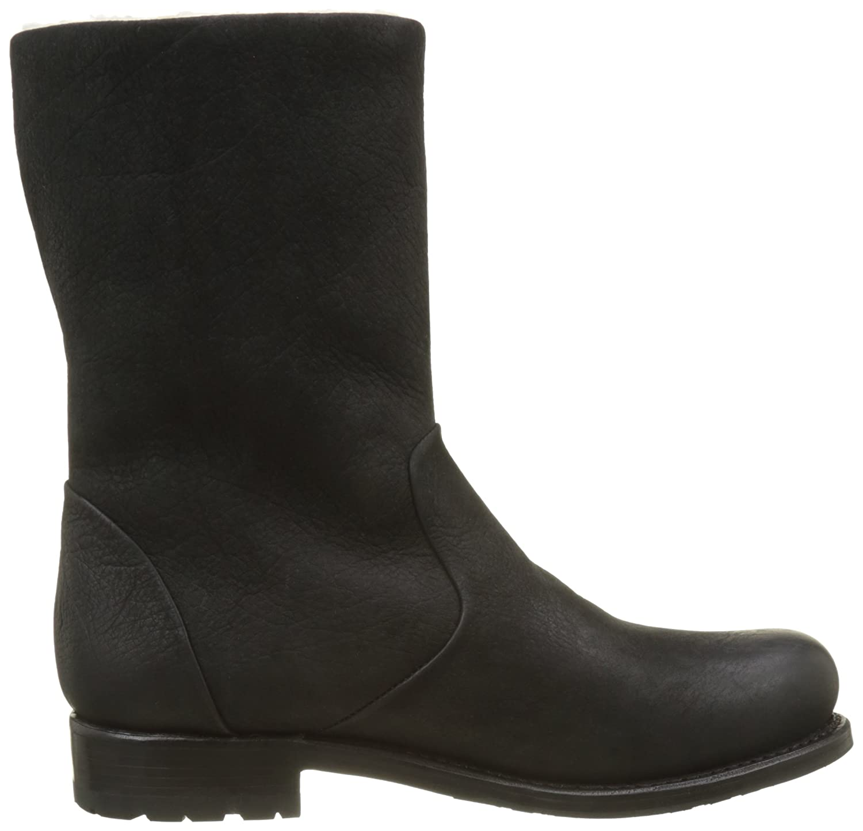 Mw70.blkf, Womens Biker Boots Blackstone