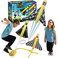 Stomp Rocket The Original Stunt Planes Launcher - 3 Foam Planes and Toy Air Rocket Launcher - Outdoor Rocket STEM Gifts…