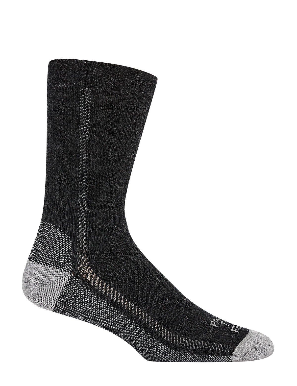 Farm to Feet Lightweight Madison Crew Socks, Charcoal, Small by Farm to Feet