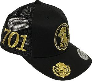 47e067f5cc5 Sinaloa El Avion Del Chapo Guzman Mexico Logo Federal 2 Logos Hat ...