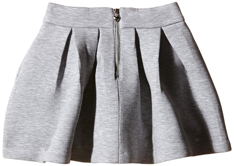 20147bcf861b Yumi Neoprene Box Pleat Skirt - Falda para niñas, color gris, talla 9-10  años: Amazon.es: Ropa y accesorios