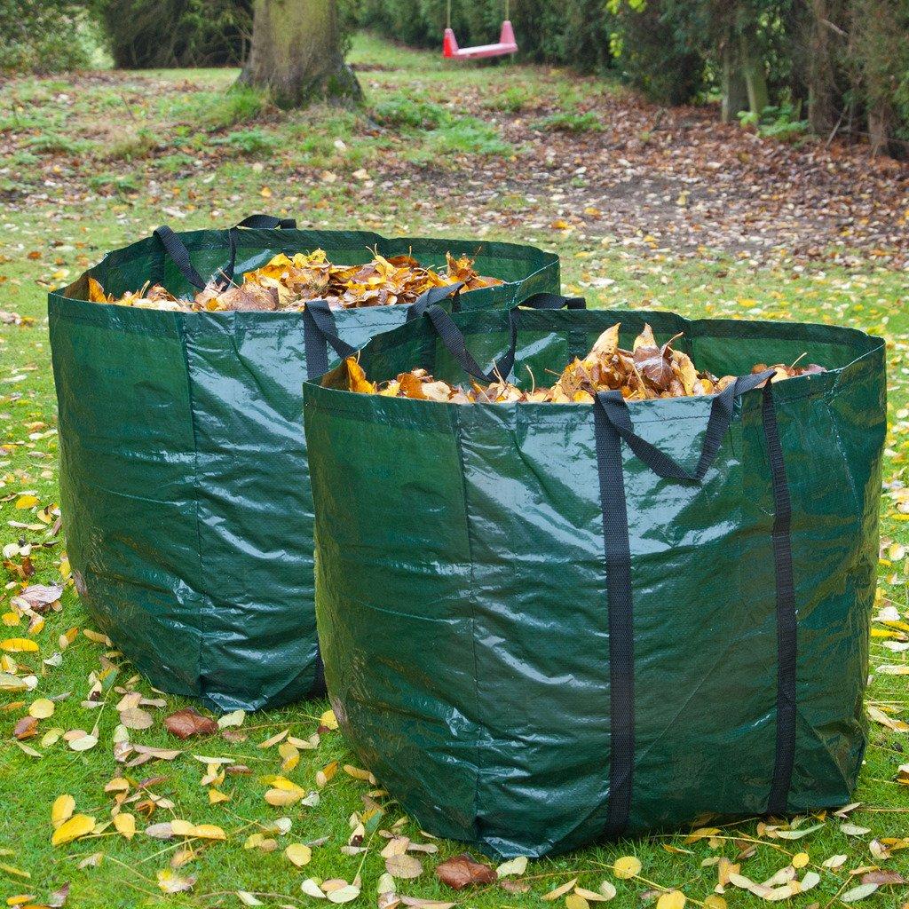 garden bag. 2 X Strong 98 Litre Garden Bag Waste Refuse Rubbish Grass Sack Waterproof Reusable Large: Amazon.co.uk: \u0026 Outdoors I