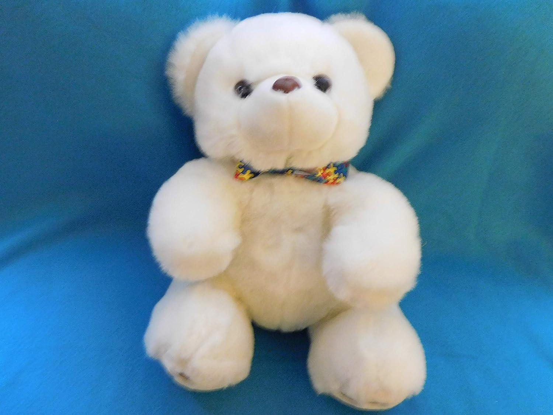 Stashanimal White Autism Teddy