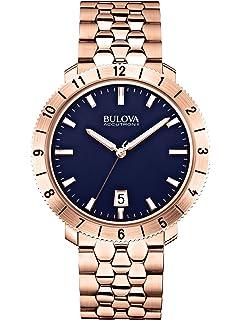 Bulova Accutron II - 97B130 Rose Gold Blue Dial Watch