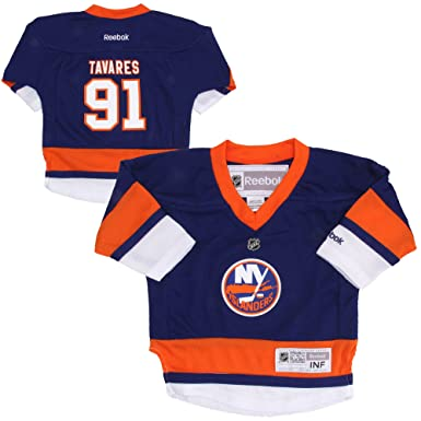 ... Premier Hockey Jersey John Tavares New York Islanders 91 Blue Kids 4-7  NHL Reebok Home Replica ... 648cbb789