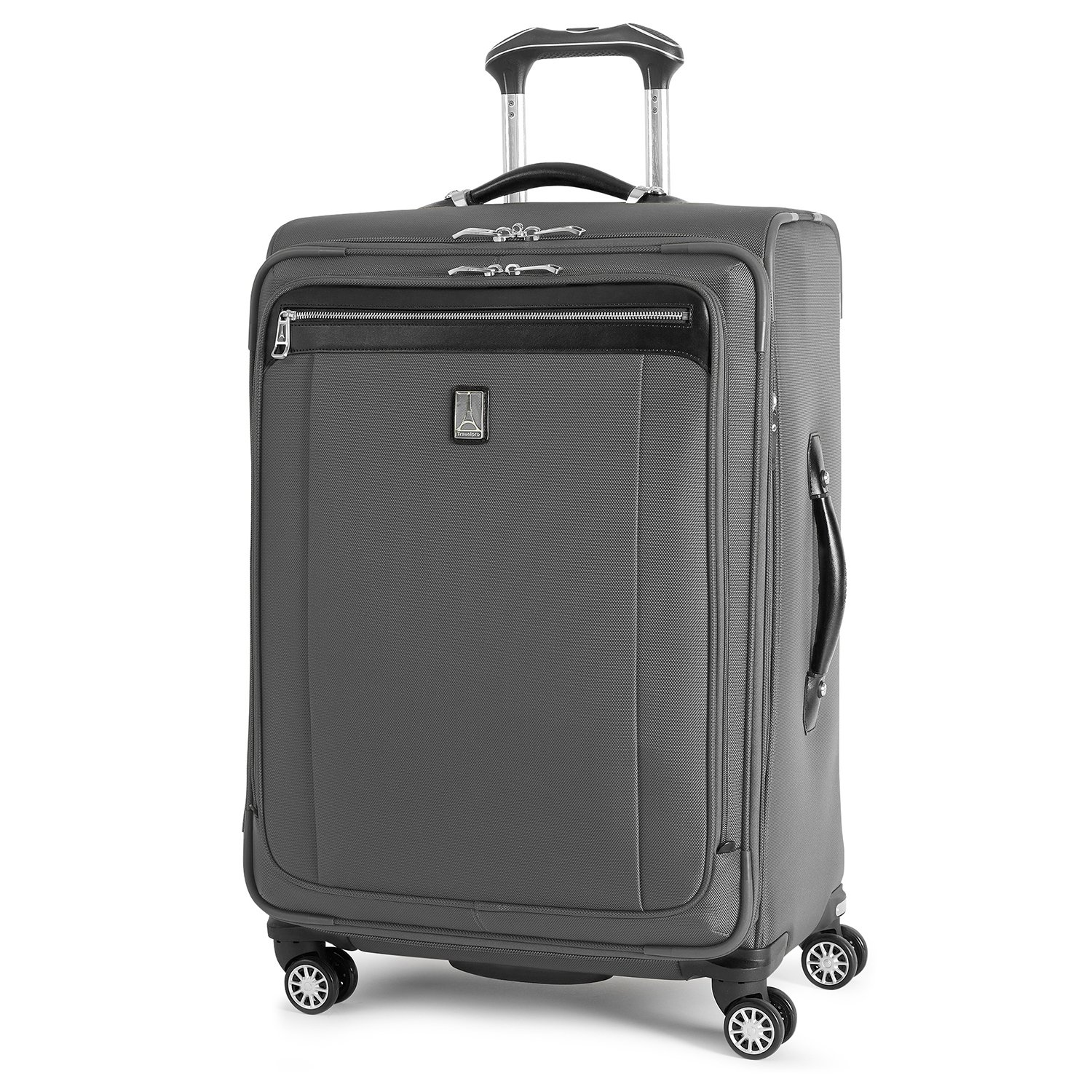Travelpro Platinum Magna 2 Expandable Spinner Suiter Suitcase 25-in. , Charcoal Grey