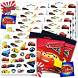 Disney CARS 3 Movie Cars Stickers Party Favors - Bundle of 12 Sheets 240+ Stickers plus 2 Specialty Stickers!