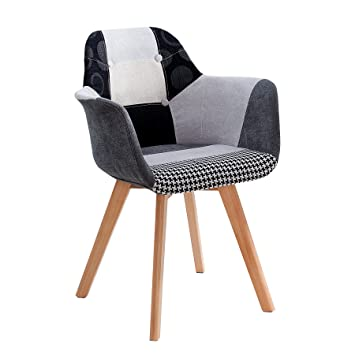 Exklusiver KOPENHAGEN mit Armlehne Stuhl Invicta Interior PXikOZu