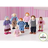 KidKraft Doll Family of 7 – Caucasian