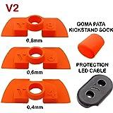 Amortiguador de Goma Flexible V2 Anti Holgura y Vibración Para Xiaomi Mijia M365 / Pro Scooter Eléctrico, Pieza…