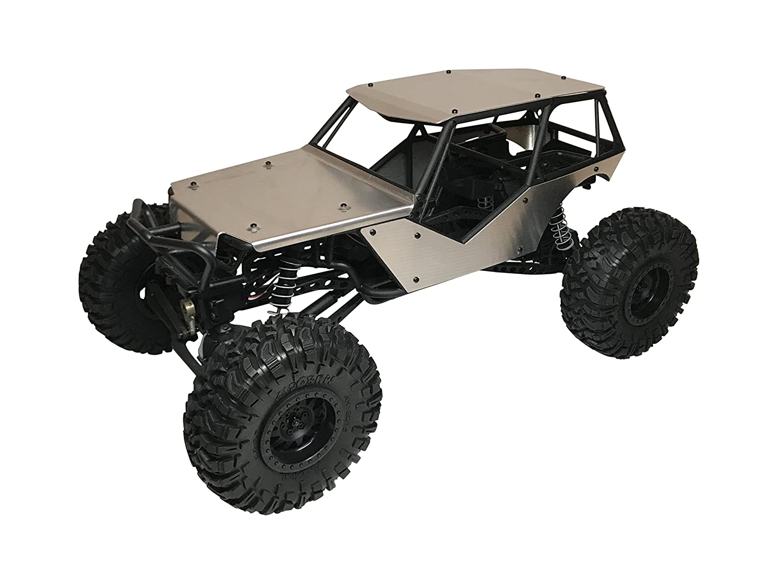 Axial Racing Wraithアルミボディパネルキットwith Full屋根   B076Z3LCBX
