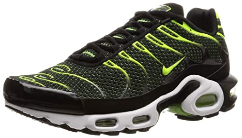 | Nike Men's Air Max Plus BlackVoltDark Grey