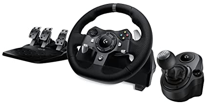 Amazon Com Logitech G920 Driving Force Racing Wheel Logitech G
