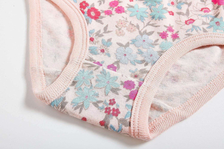 Baby Soft Cotton Underwear Little GirlsBriefs Toddler Undies Pack of 6