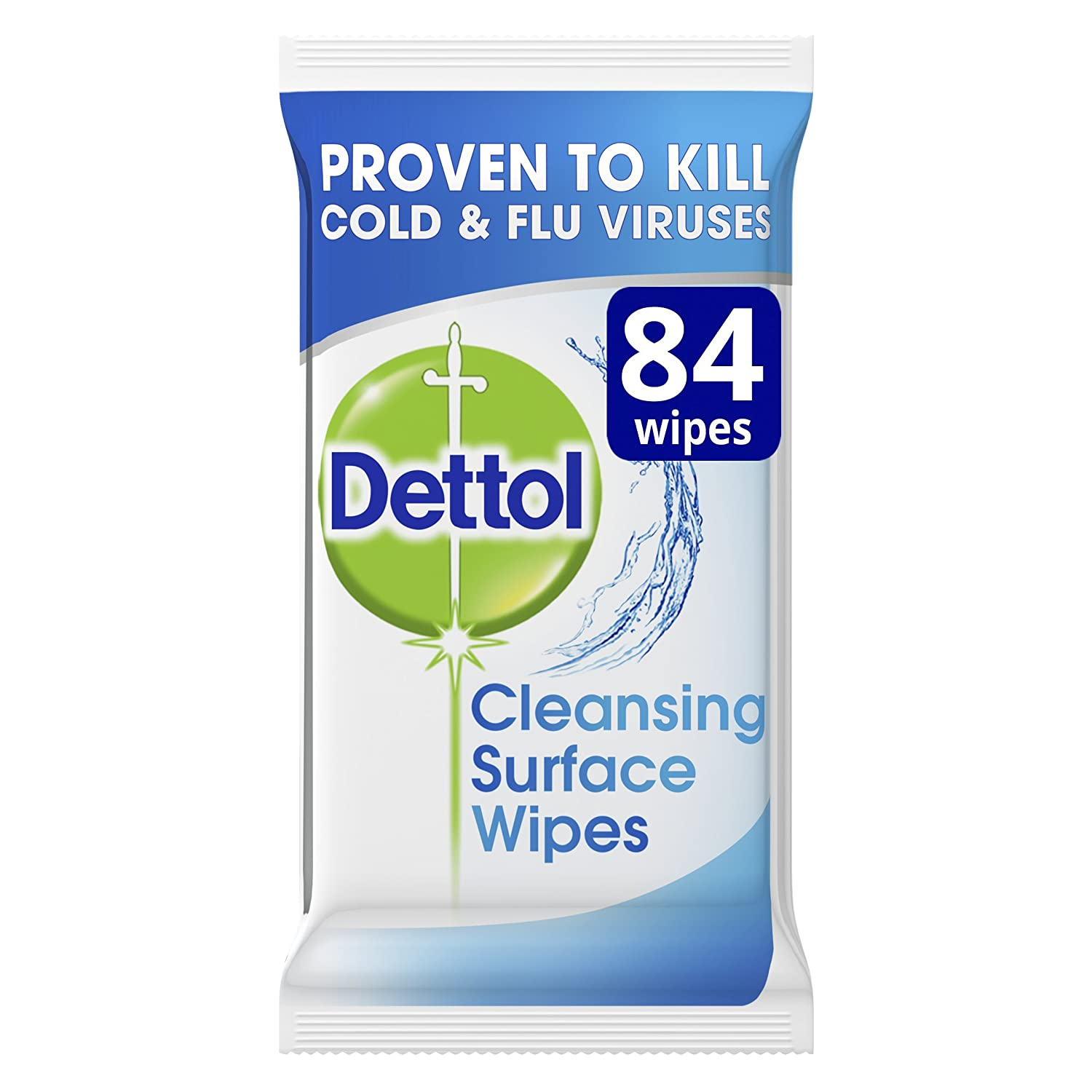 Dettol Antibacterial Surface Cleaning Wipes 84 Antiseptic Liquid 500 Ml 2 Pcs Flash Prime Pantry