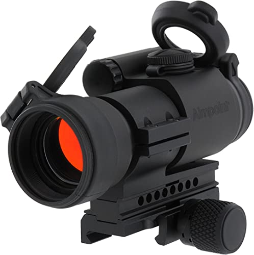 Aimpoint PRO Red Dot Reflex Sight with QRP2 Mount and Spacer - 2 MOA - 12841